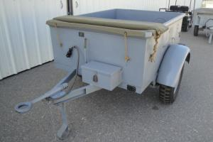 1944 COUSE LABORATORIES 1/2 TON SPARES TRAILER, USN BUREAU OF SHIPS, RESTORED