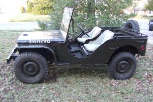 1941 Ford GP Jeep