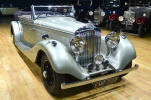 1936 Derby Bentley 4.25 2 door drophead by Vanden Plas