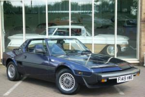 Fiat X1/9 Grand Finale. Only 25,000 Miles From New.