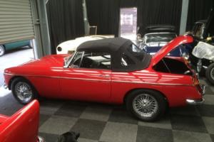 1965 MGB Roadster, Red 'SIMPLY AMAZING' Photo