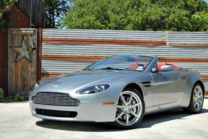 2007 Aston Martin V8 Vantage Roadster Convertible 6-Speed ONLY 8K Miles! Photo