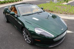 2014 ASTON MARTIN DB9 | ROVER BRITISH RACING GREEN / SAHARA TAN | $28K OPTIONS