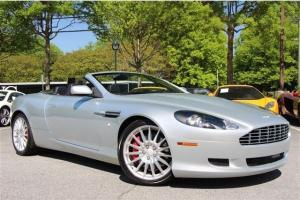 2006 Aston Martin DB9 CONVERTIBLE, V12, 450 HORSEPOWER, NAVIGATION, REAR SENSORS