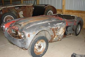 1957 Austin Healey 100-6 BN4 Parts/Project Car   NO RESERVE!