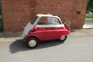 1957 BMW Isetta 300 original paint  Barn Find numbers matching engine, 14k miles
