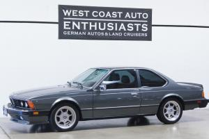 1985 BMW 635csi...Super Clean w/Records