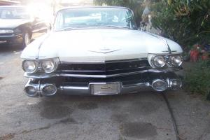 1959 Cadillac Coupe NICE! Bucket Seats Tri-Power Solid