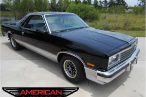 87 El Camino SS Z15 A/C PS PB PW PDL Excellent Condition All recipts since 88!