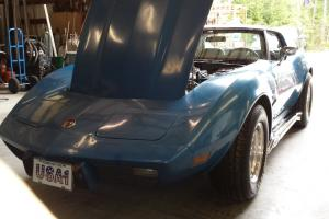 1976 Corvette Stingray, 4-Speed, T-Top, Suppercharged Car