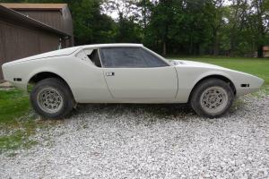 1972 DeTomaso Pantera Project Car - ready for paint & reassembly -parts included