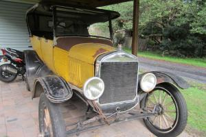 T Model Ford 1924 in Umina Beach, NSW