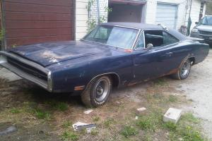1970 dodge charger factory sunroof car