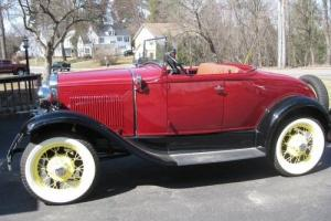 30 Ford Model A Roadster