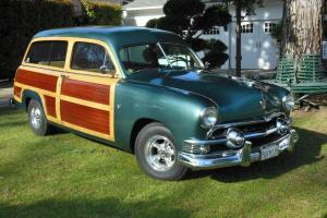 1951 FORD WOODIE / WOODY WAGON - BEAUTIFUL CAR - NO RESERVE!