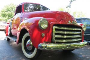 1950 GMC FC100 1/2 Ton, Red/Black, 100% Original