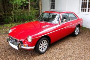MGB GT Older Restored Car Photo