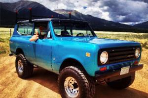 1971 International Scout II 2-Door 3.8L inline 6 SWEET CONDITION