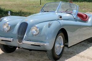 "Rare 1953 Jaguar XK120SE ""M"" Model OTS Roadster Restored Certified"