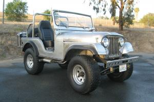 1970 Jeep CJ5 Handmade Stainless Steel Body!!!!