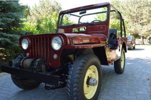 *** BEAUTIFUL RED 1951 WILLYS JEEP CJ3A ***