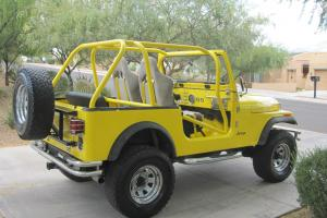 Classic 1986 Jeep CJ7  hard to find rust-free Arizona 4x4 with many upgrades