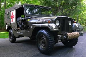1955 Willys M170 Frontline Ambulance Jeep