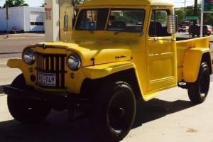 1959 Willys Jeep Truck Base 3.7L