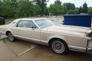 1979 Lincoln Mark V Cartier, Rare model, very nice, all original, only 45K miles