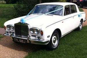 Rolls Royce Silver Shadow - WHITE