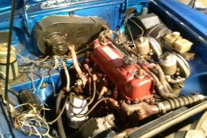 1963 MGB Roadster,Bright Blue,older restoration,nice driver,needs misc work