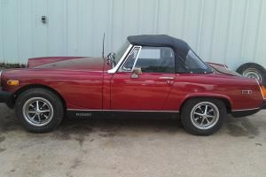 1979 MG Midget MK IV Convertible 2-Door 1.5L VERY NICE UNDOCUMENTED 29K CAR