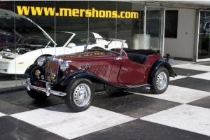 1953 MG TD MKII Roadster Complete Restoration Photo