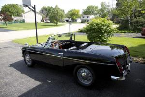 Fresh restoration of a 1964 MGB