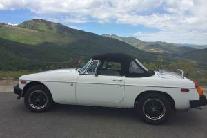 1977 MGB ALL NEW ALL ORIGINAL