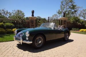 1960 MG MGA 1600 MARK I**COLLECTOR QUALITY**FRAME-OFF RESTORATION** HERITAGE CER