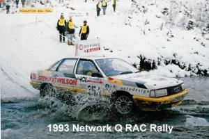 1986 AUDI 200 QUATTRO TURBO GENUINE GROUP A STAGE RALLY CAR Photo