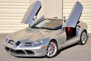 2008 Mercedes-Benz SLR McLaren Roadster! Silver/300SL Red! 617HP! Fresh Service!