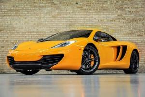 2012 MCLAREN MP4-12C $275K MSRP! MCLAREN ORANGE! LOADED W/CARBON FIBER! CLEAN!!!