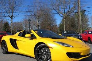 MCLAREN, MP4-12C, SPIDER, IRIS UPGRADE, TONS OF CARBON, STEALTH, PARKING SENSORS