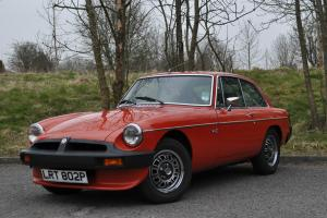 1975 MGB GT V8, Factory Original Car,