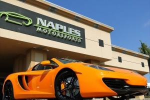 13 McLaren MP4-12C Spider - MCLAREN ORANGE - CARBON FIBER - STEALTH PKG - 2K MI