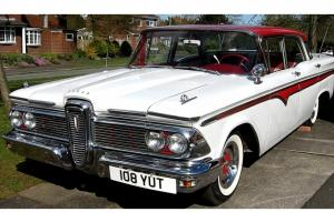 Ford Edsel Ranger V8 Auto 292 An Excellent Example for a Rare Classic