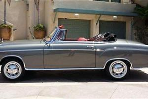 1960 MERCEDES BENZ 220 SE ROADSTER FUEL INJECTED RARE BEAUTIFUL RESTORED CLASSIC