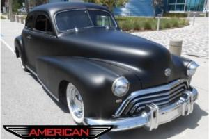 48 Olds Rat Rod State of The Art New Technology A/C Suspension Brakes Interior