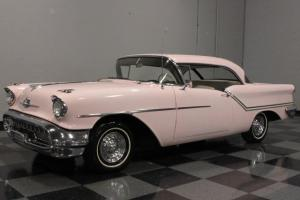 50'S SUNSET GLOW, BETTER KNOWN AS MARY KAY PINK, ROCKET 371 V8, HYDRA-MATIC!!!