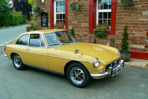 MG B GT GOLD RARE AUTOMATIC COMPLETLEY ORIGINAL REGULAR AWARD WINNER