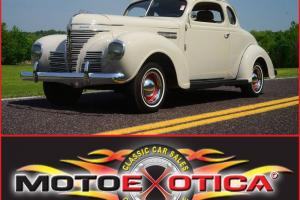 1939 Plymouth 5 Window Coupe- Beautiful Restoration - New paint - New Interior !