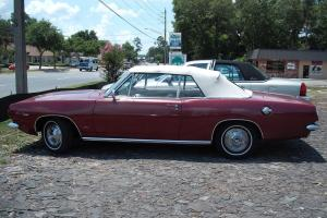 1967 Plymouth Barracuda convertible, match#'s, low mile, buckets, auto, fact.A/C
