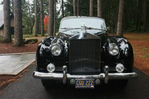 1962 ROLLS ROYCE SILVER CLOUD 11,BLACK PLATE CALIFORNIA CAR ,74K ORIGINAL MILES Photo